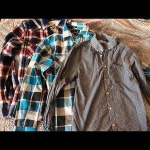 Bundle of three men button up shirts